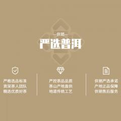 经典藤条古树普洱茶生茶饼2020春源自1950